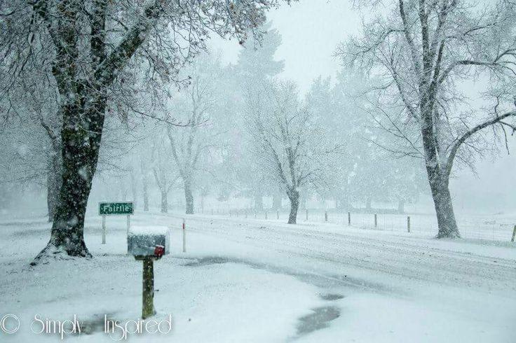 Winter snow storm June 18th 2015