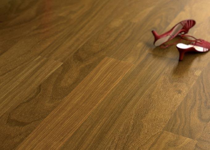 Pavimenti prefiniti in legno plank - plank afrormosia verniciato.