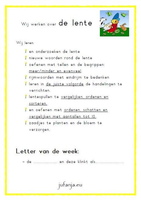 Schatkist anker 'lente':  posters met doelen per ankerpunt
