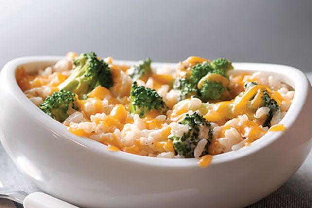 Cheesy, creamy rice and broccoli get topped with buttery-tasting RITZ Crackers for a savory side you can make ahead of time so it's ready when you are.