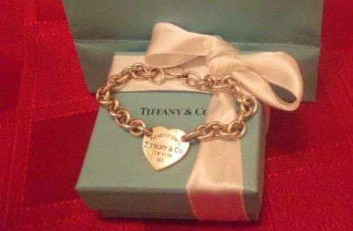 tiffany heart tag bracelet ,AUTHENTIC GENUINE TIFFANY BRACELET ,LOTS OF PHOTO'S