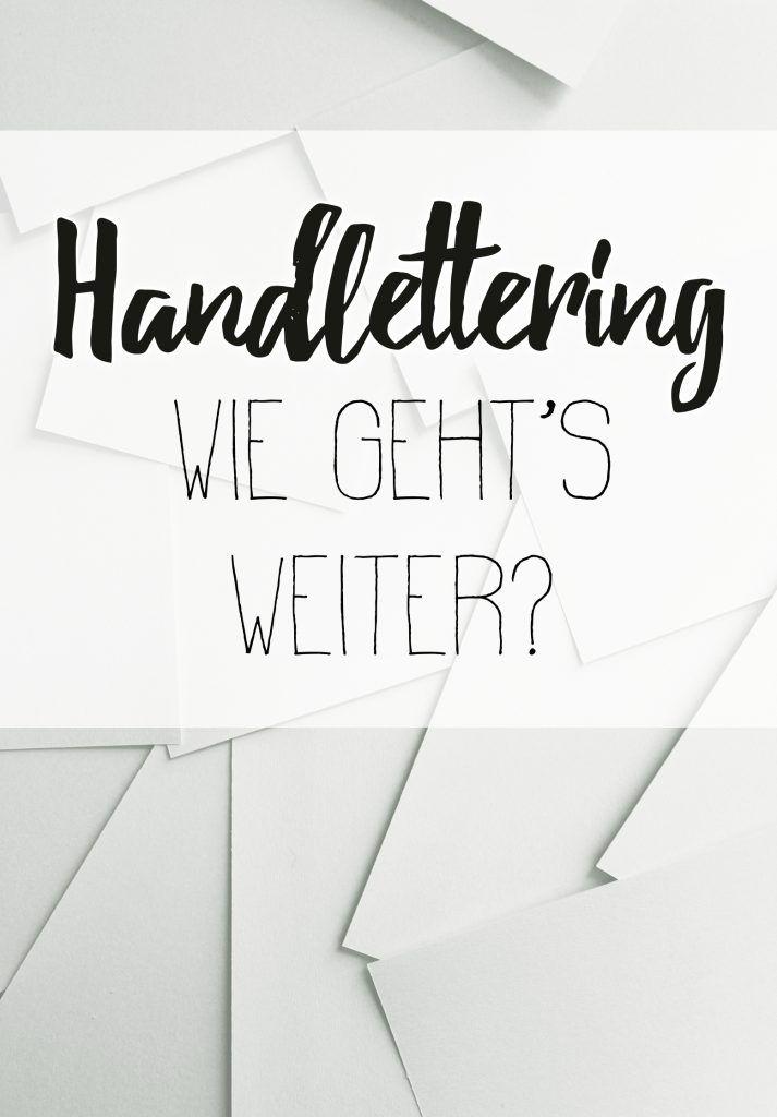 Handlettering Inspiration und Zitate