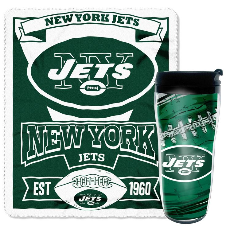 NFL Jets Mug N' Snug Set