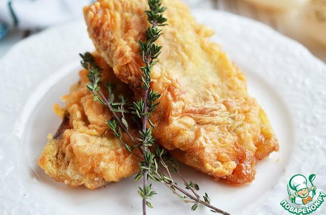 Жареная рыба в двойном кляре ингредиенты
