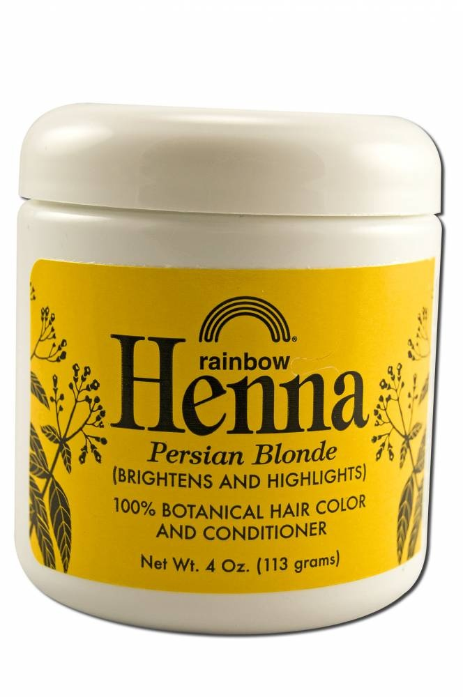 Rainbow  Henna  Persian Blonde  (brightens And Highlights) http://www.internatural.com/item.php?item=119750