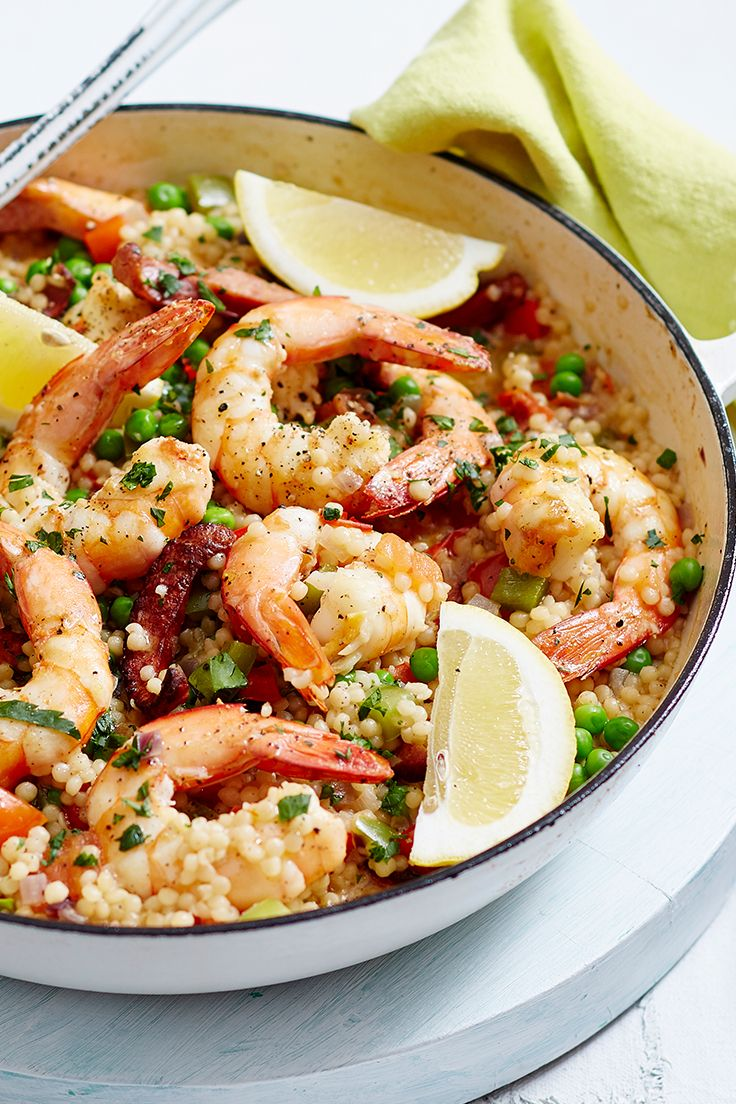 This tasty twist on a classic Spanish paella is sure to win over the family at dinner time.