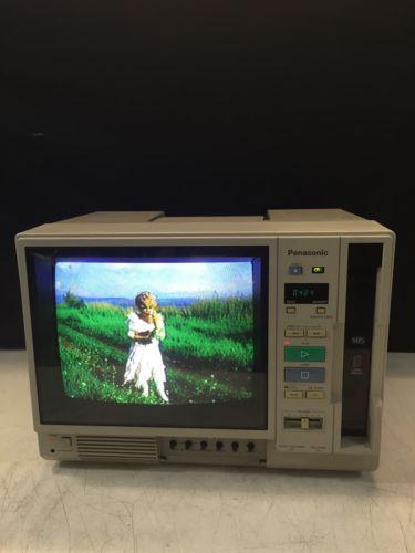 Vintage Rare 1988 Panasonic Ag-500r Recorder Portable Tv/vcr Combo Vhs Player