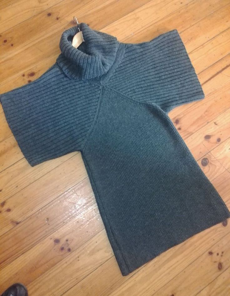 Witchery Grey Wool Blend Tunic Dress Sz M 12 14  Flawless Pre Owned Condition