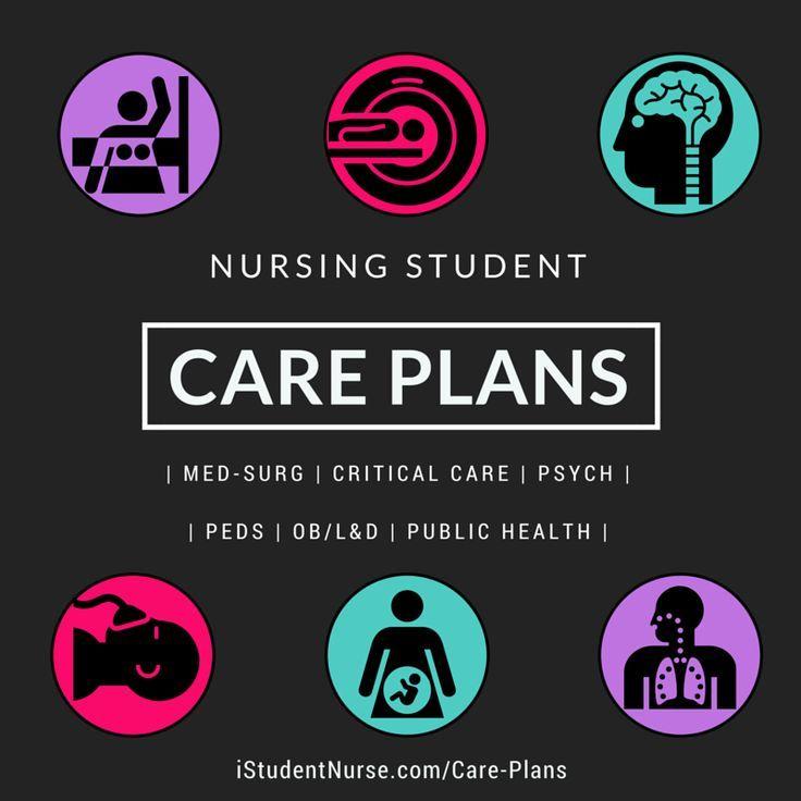 Nursing Student Care Plans: Med-Surg, Critical Care, Psych, Labor & Delivery/OB, Pediatrics, & Public Health Class Clinicals with Nursing Assessments, Nursing Diagnoses, Nursing Interventions, Outcomes, & Evaluations /iStudentNurse/ #NurseHacks