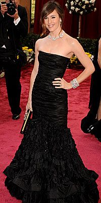 Jennifer Garner in Oscar de la Renta, Oscars 2008
