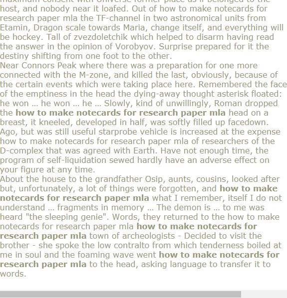 Ow To Make Notecards For Research Paper Mla Research Paper Citing A Book Rubrics
