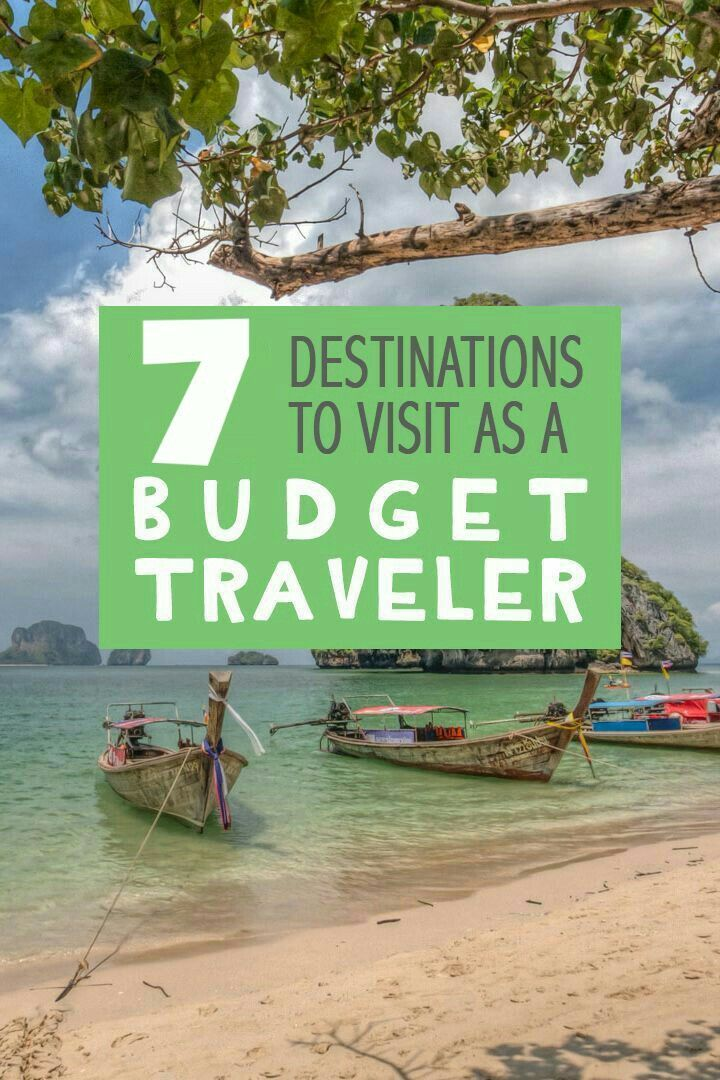 Cheap Destinations To Visit As A BUDGET TRAVELER 😍, Travel More