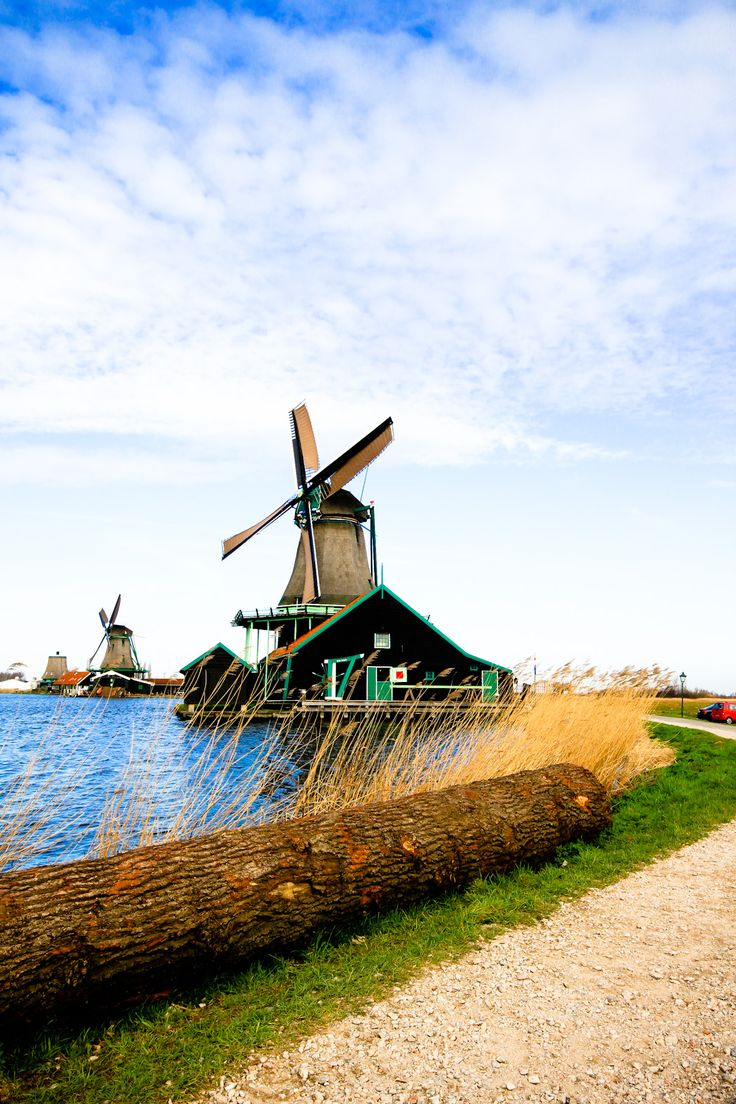 Zaanse Schans - quintessential windmill tourist spot - pannekoek restaurant in the town. If you want an afternoon away from the city. It's fairy easy to get to from Amsterdam Central Station.