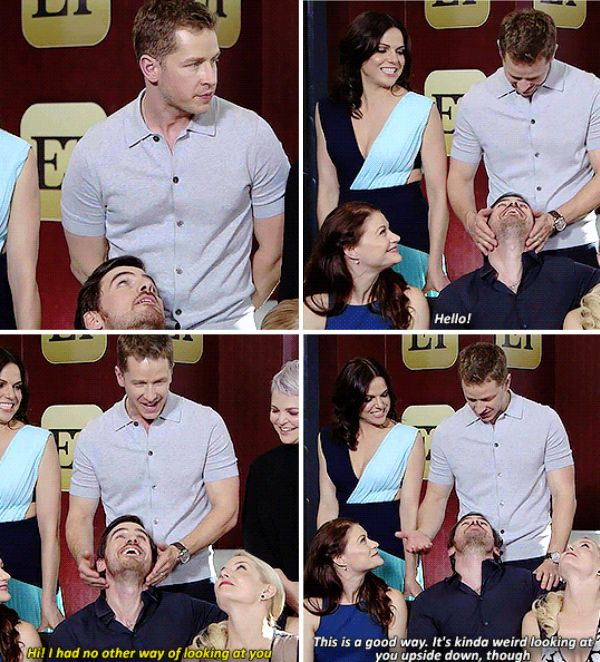 Josh Dallas and Colin O'Donoghue - 'Once Upon a Time' Cast Laughs About 'Warped' Romantic Relationships in Storybrooke!