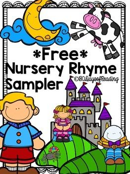 This is a free sample packet of my Nursery Rhyme sets.  There are nine Nursery Rhymes in all.  Each set includes activities for comprehension, phonics, phonemic awareness, fluency, and so much more!  All packs will be uploaded by August 1st.Be sure to grab the bundle:  HERE