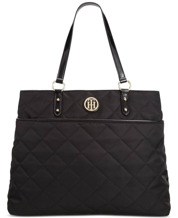 Tommy Hilfiger Quilted Nylon Tote