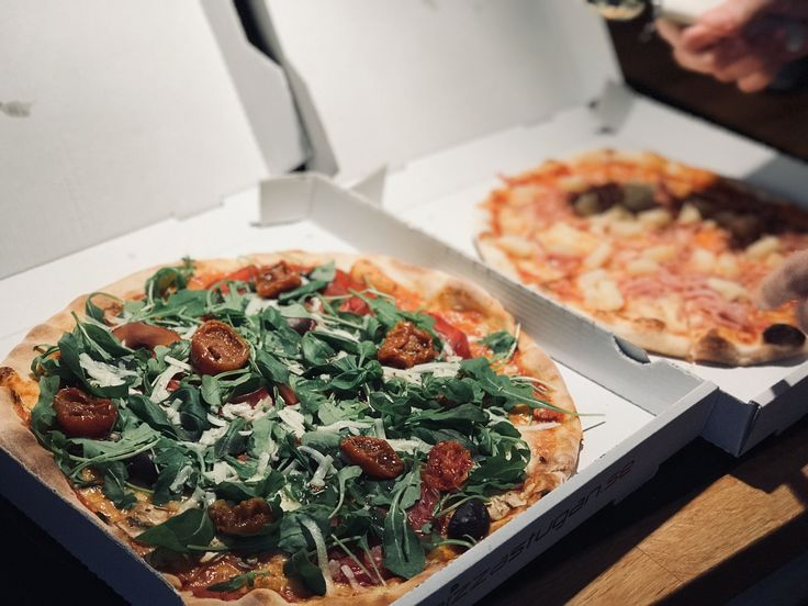 Amazing sunday pizza