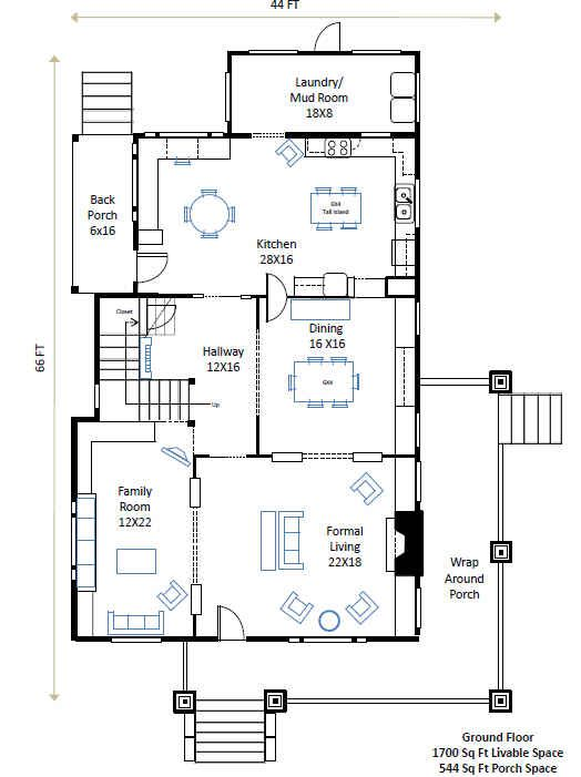 Zathura House Floor Plans