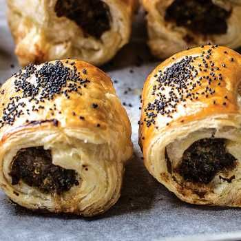 Tenina's Peppery Sausage Rolls