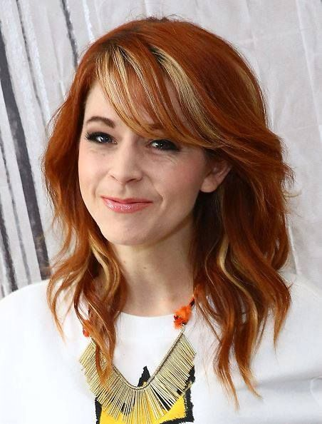 NEW YORK, NY - JUNE 16: Musician Lindsey Stirling speaks at AOL BUILD Speaker Series: Lindsey Stirling at AOL Studios In New York on June 16, 2015 in New York City. (Photo by Monica Schipper/FilmMagic) No°16