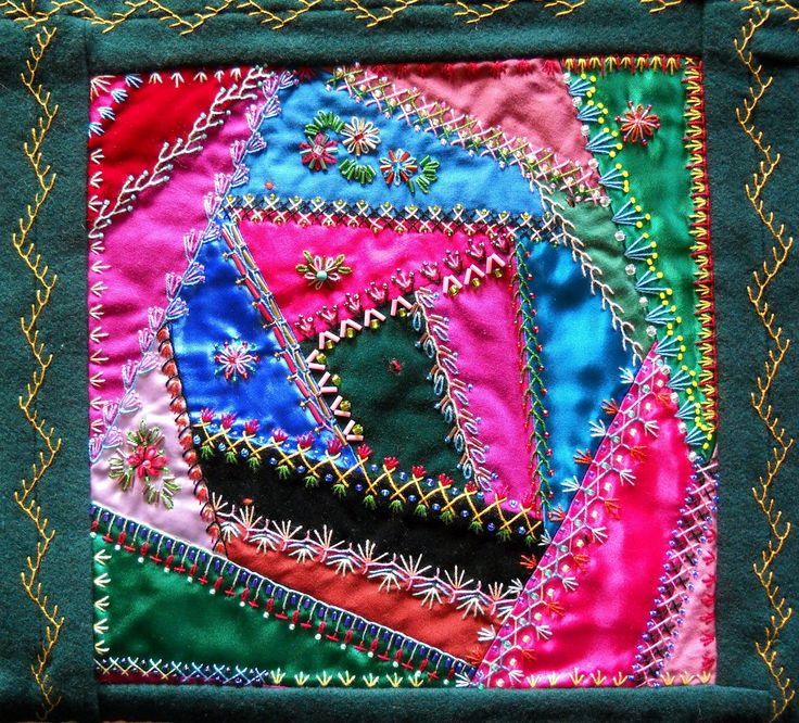 10 Best Quilting Crazy Quilts Images On Pinterest Crazy