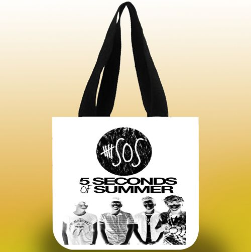 5 second of summer poster art Tote Bags