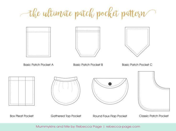 Ultimate Patch Pocket Pattern - Add pockets to any garment!
