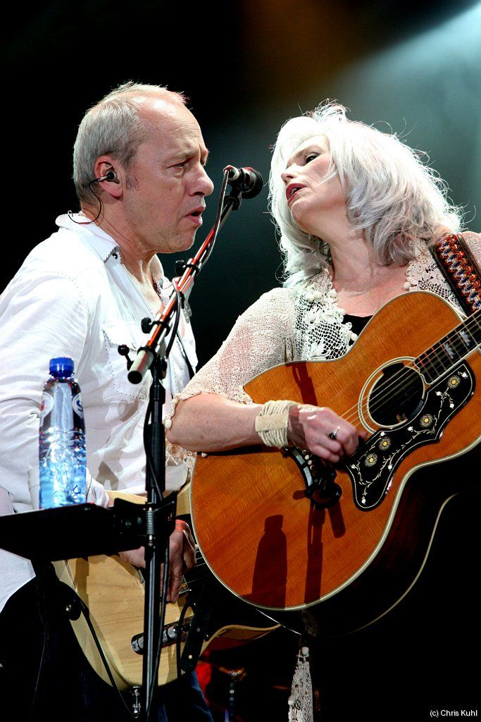"Emmylou Harris and Mark Knopfler together. No, it doesn't get any better than this. ""I'll be your Bell Starr, you can be my Jesse James..."""
