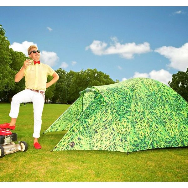 Tente à énergie solaire : la tente geek pour recharger son smartphone, iPhone via port USB !