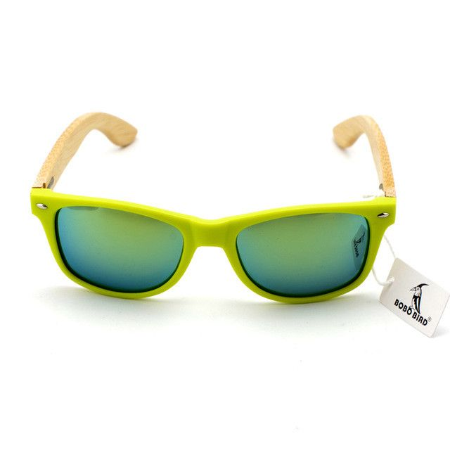 sunglasses women 2015 wooden sunglasses bamboo brand sun glasses Wood Case Beach Sunglasses for Driving gafas de sol BS03