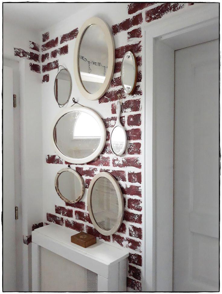 new entrance many mirrors