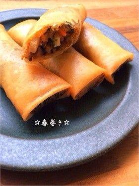 ☆春巻き☆ by ☆栄養士のれしぴ☆ [クックパッド] 簡単おいしいみんなのレシピが258万品