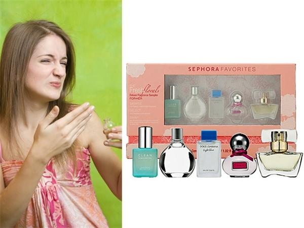 For the picky mom: Sephora Fresh Florals Deluxe Fragrance Sampler