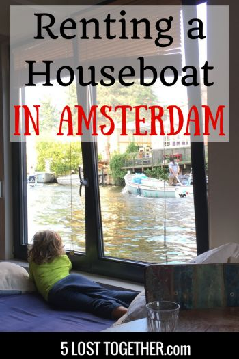 Unique Places to Stay: Renting an Amsterdam Houseboat.  The best accommodation in Amsterdam - our tips and why you need to experience a houseboat stay.