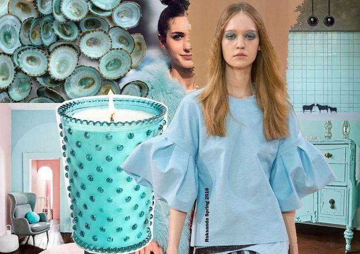 Color trends Spring 2016 - Limpet shell / Divatszínek 2016 tavasz - Kék kacsakagyló