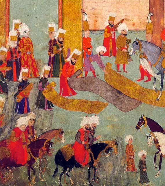 Textilien im Hofzeremoniell/Topkapı Sarayı Müzesi, Istanbul