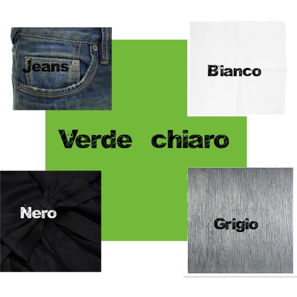 """Verde chiaro"" by annavenere3 on Polyvore"