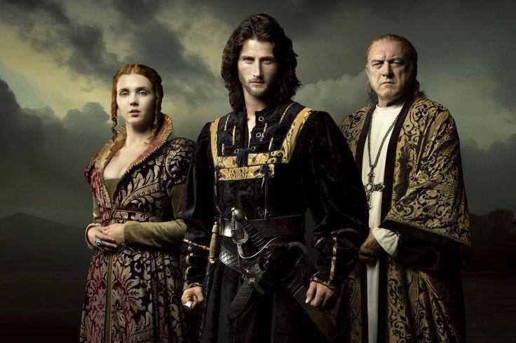 Rodrigo, Cesare e Lucrezia Borgia. Seconda stagione
