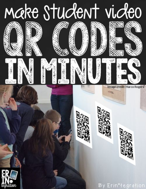 Using a batch QR entry on Google Sheets to make a class set of QR codes in minutes