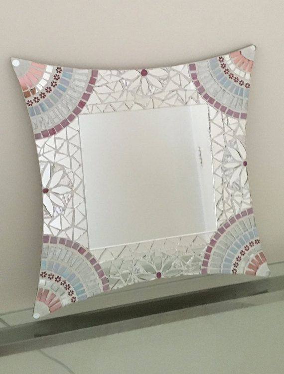 MOSAIC MIRROR HANDCRAFTED by MICHELESMOSAICS on Etsy