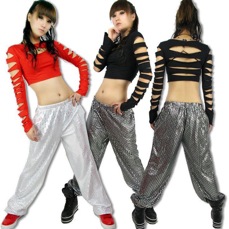 Hip hop Fashion clothes Ds top Cutout ds costume Hiphop jazz Stage clothes u20ac 1629 | Dance Wear ...