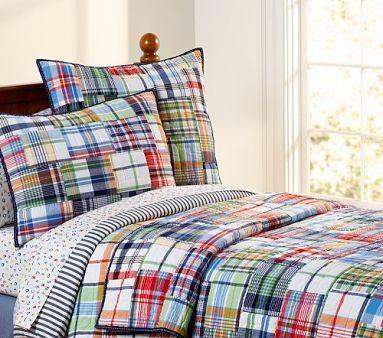 pottery barn kids madris bedding - Google Search; love the comforter for big boy room
