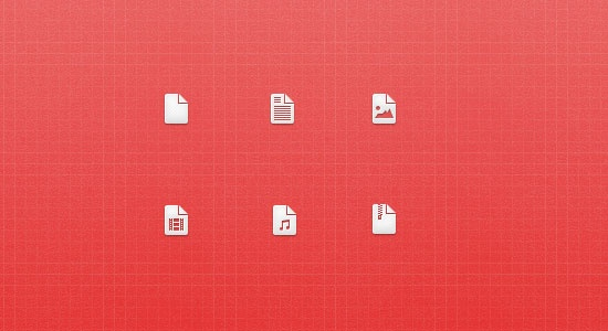 A very simple & clean icons in PSD format, free to download.