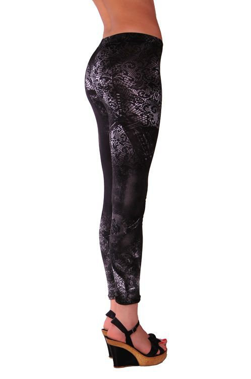 RedHotBest Black Rose Micro Fashion Tight - Desenli Tayt, ModaBizde.com