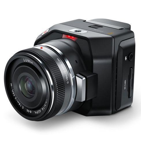 NAB 2015:  The Blackmagic Micro Cinema Camera and Blackmagic Micro Studio Camera 4K Just Announced