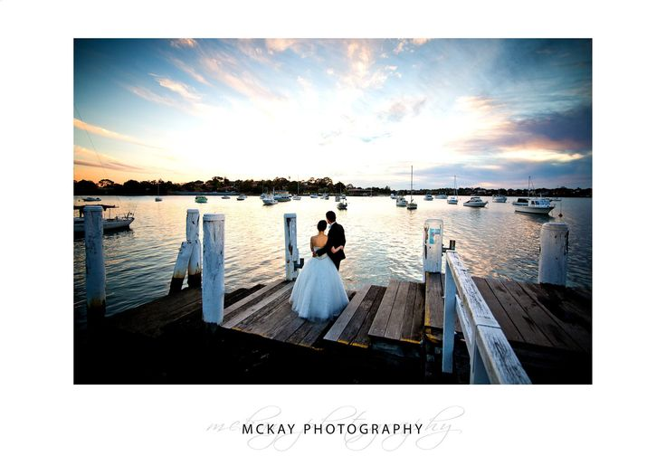 Sunset at Le Montage for Christy & Yusuf's wedding