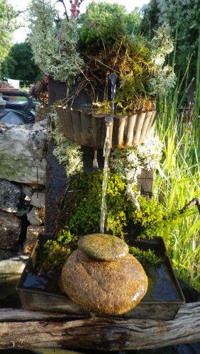 Fontaine solaire - passeur de plantes