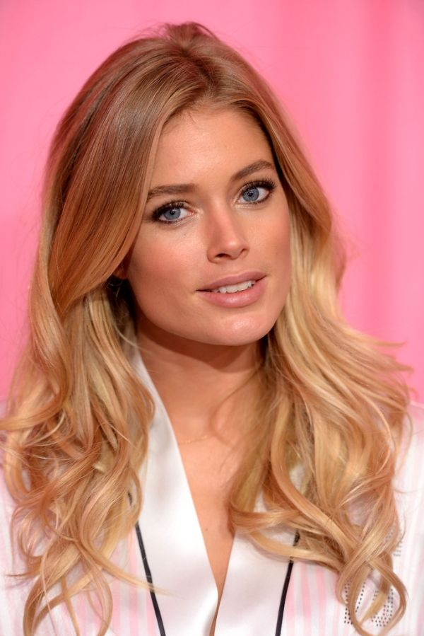 Doutzen Kroes Hair This Kind Of Ombre Hairstyles