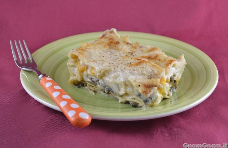 Scopri la ricetta di: Lasagne bianche con peperoni e melanzane