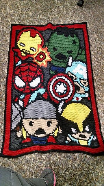 Ravelry: Little Heroes inspired by Marvel pattern by MeLynda Williams